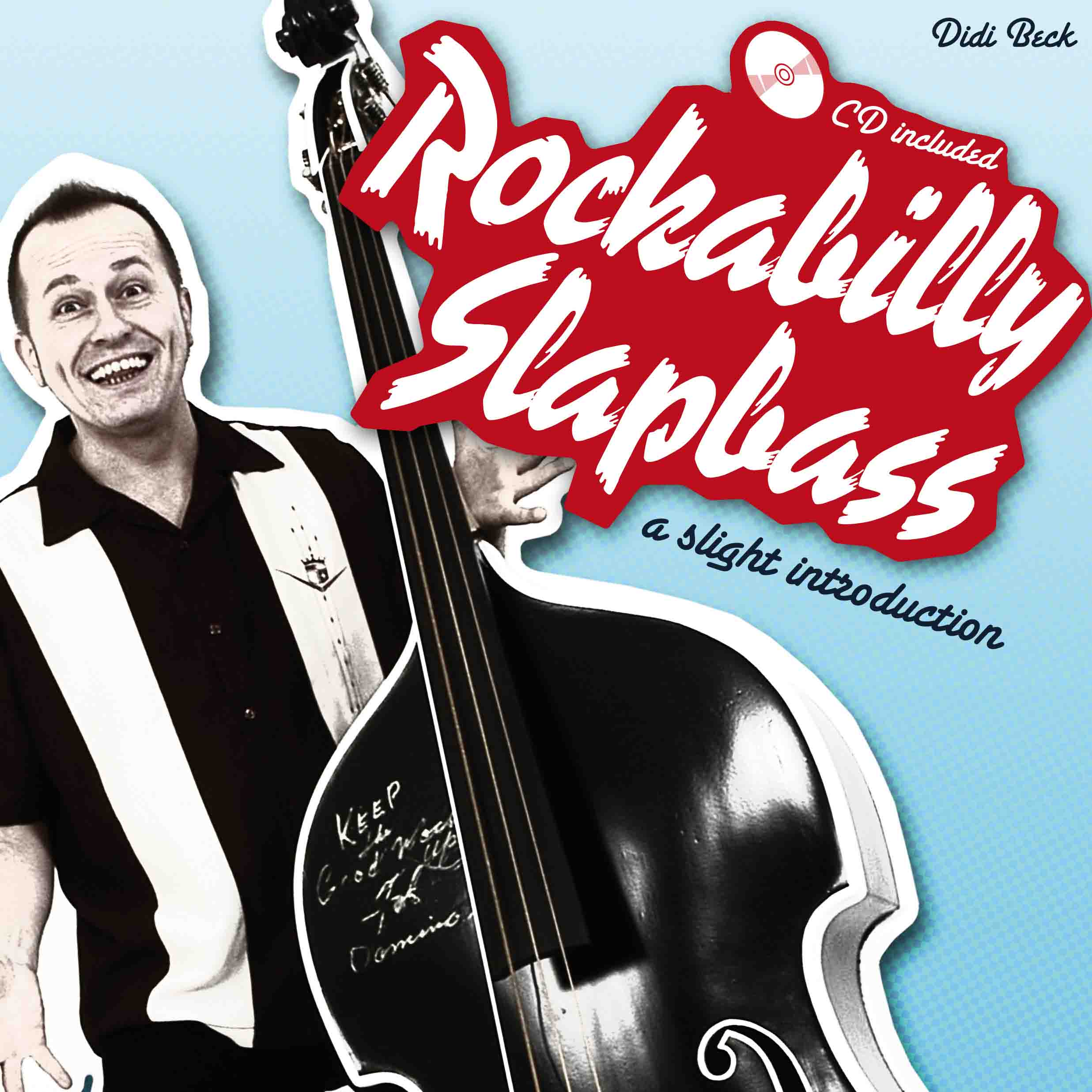 instructional rockabilly and psychobilly upright slap bass book