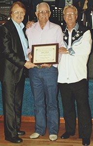 rockabilly slap bassist james kirkland's induction into the southern legends hall of fame on september 11 2007 in oklahoma city ok