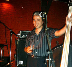 upright bass for jd mcpherson, deke dickerson ronnie dawson
