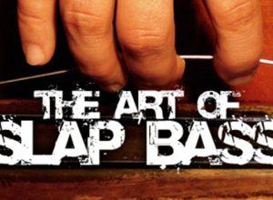 art of slap on double, acoustic, upright, doghouse, bullfiddle bass