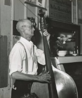 ragtime new orleans bassist eddie dawson on acoustic bass