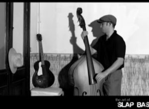 nicolas dubouche plays double bass in song willie dixons boogie for art of slap bass