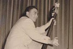 Al Rex, slap bassist from Saddlemen and Comets