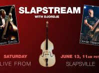 upright slap bass livestream with djordje stijepovic and kevin smith